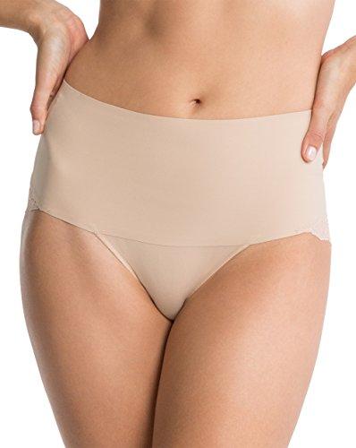 Spanx SP0415 Braguitas Moldeadoras, Beige (Nude Nude), 32 (Herstellergröße: X-Small) para Mujer