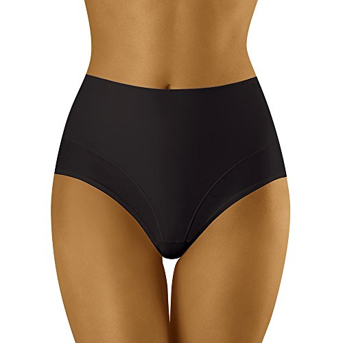 Wolbar Bragas Moldeadoras para Mujer WB146, XL, Negro