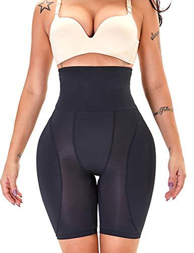Leggings elásticos Pantalones cortos de cintura alta Short control de abdomen para mujer