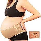 Banda De Maternidad Para El Embarazo - Cinturón De Soporte Para Embarazo Suave & Transpirable - Bandas De Soporte Pélvico